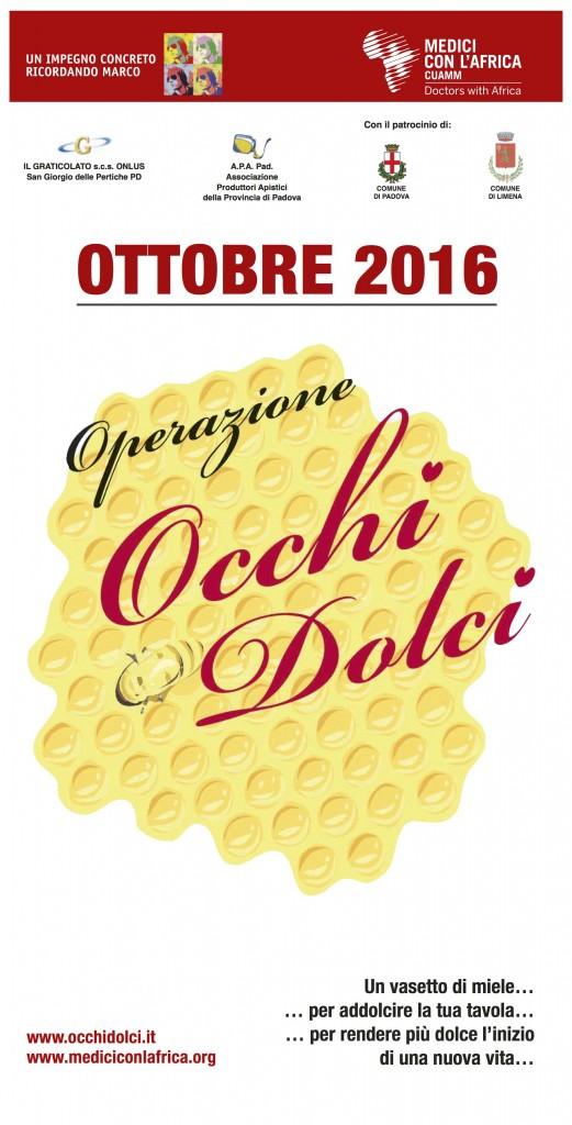 OCCHI DOLCI locandina 2016