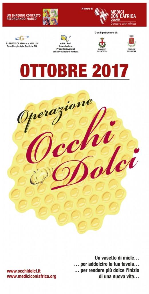 OCCHI DOLCI locandina 2017