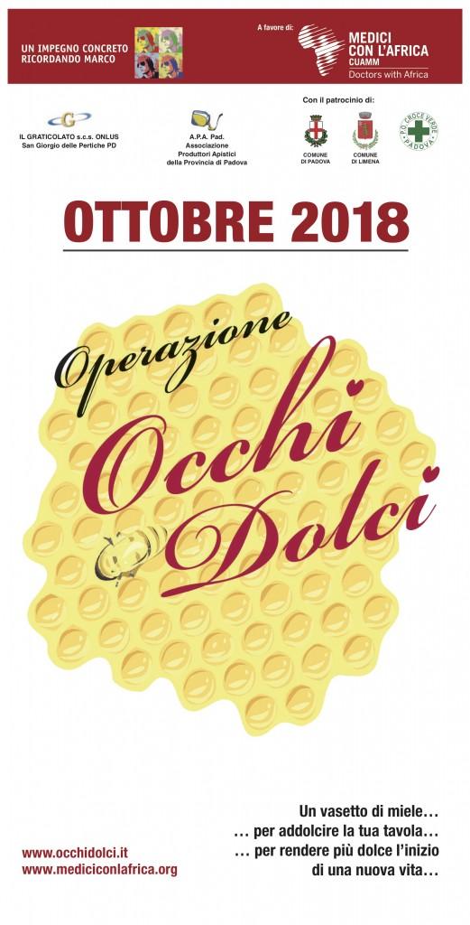 OCCHI DOLCI locandina 2018